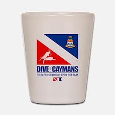 Dive The Caymans Shot Glass