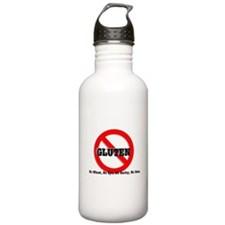 SAY NO TO GLUTEN! Water Bottle