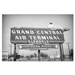Large Poster of the Grand Central Air Terminal