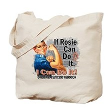 If Rosie Can Do It Uterine Cancer Tote Bag