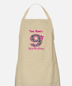 9th Birthday - Personalized Apron