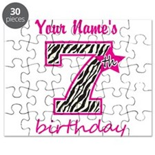 7th Birthday - Personalized Puzzle