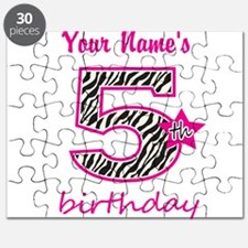 5th Birthday - Personalized Puzzle