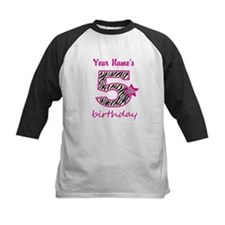 5th Birthday - Personalized Baseball Jersey