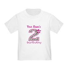 2nd Birthday - Personalized T-Shirt