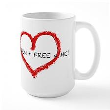Gluten + Free = ME! Mug