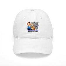 If Rosie Can Do It Thyroid Disease Baseball Cap