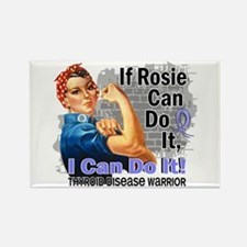 If Rosie Can Do It Thyroid Disease Rectangle Magne