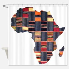 Ethnic African Tapestry Shower Curtain