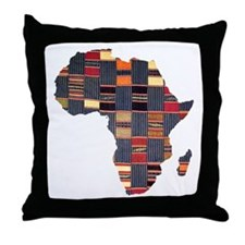 Ethnic African Tapestry Throw Pillow