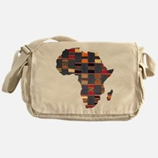 Ethnic African Tapestry Messenger Bag