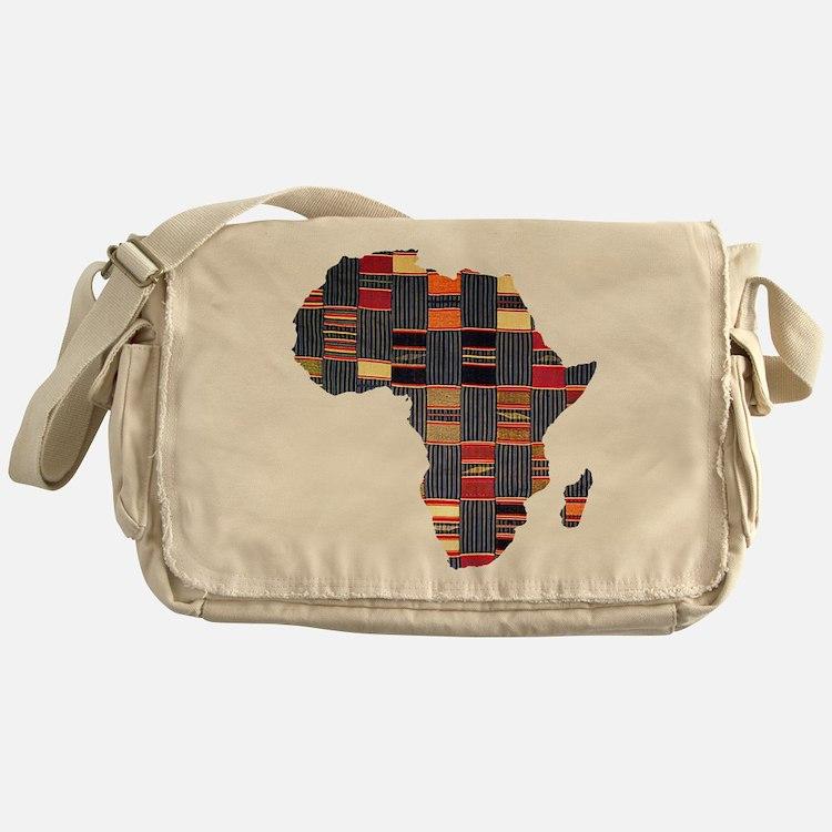 Ethnic African Tapestry Messenger Bag