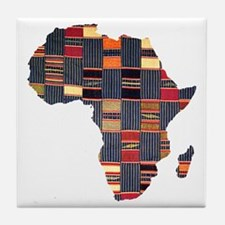 Ethnic African Tapestry Tile Coaster