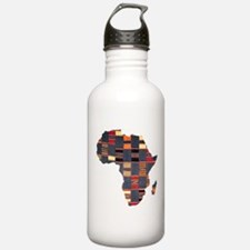 Ethnic African Tapestry Water Bottle