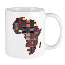 Ethnic African Tapestry Small Small Mug