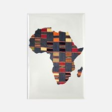 Ethnic African Tapestry Rectangle Magnet
