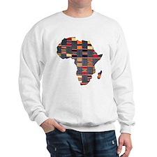 Ethnic African Tapestry Sweatshirt
