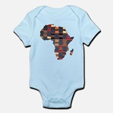 Ethnic African Tapestry Infant Bodysuit