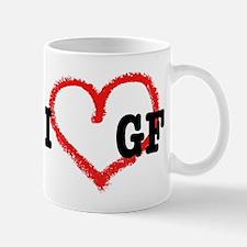 I *heart* GF Mug