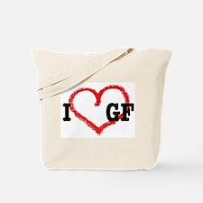 I *heart* GF Tote Bag