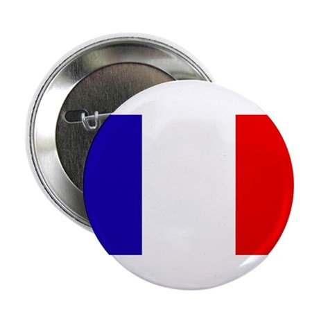 "French Flag 2.25"" Button"