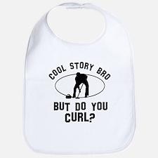 Curl designs Bib