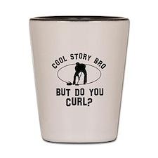 Curl designs Shot Glass