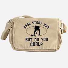 Curl designs Messenger Bag