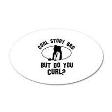Curl designs Wall Decal