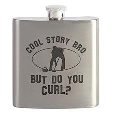 Curl designs Flask