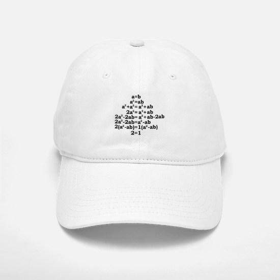 math genius Baseball Baseball Baseball Cap