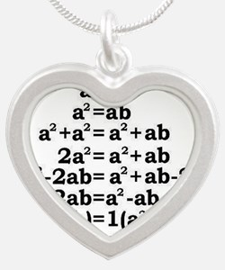 math genius Necklaces