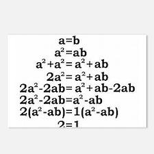 math genius Postcards (Package of 8)
