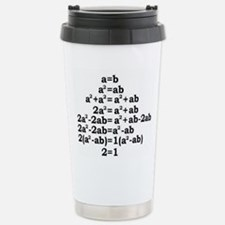 math genius Travel Mug