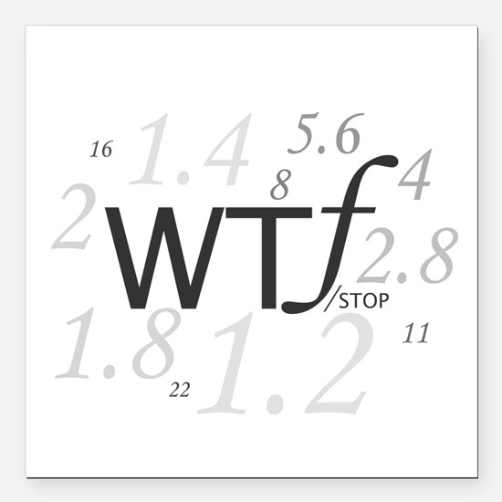 WTF - which ever F works for you is good to me. Sq