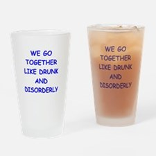 together Drinking Glass