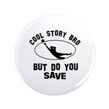 """Soccer designs 3.5"""" Button (100 pack)"""