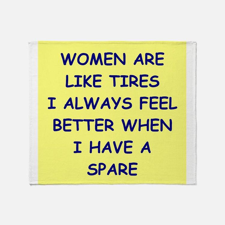 WOMEN Throw Blanket