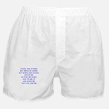 s and m joke Boxer Shorts