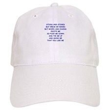 s and m joke Baseball Baseball Cap