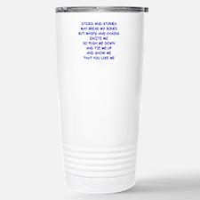 s and m joke Travel Mug