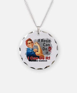 If Rosie Can Do It Stroke Necklace