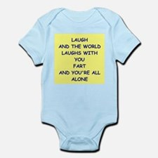 laugh Body Suit
