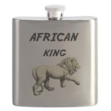 African King Lion Flask