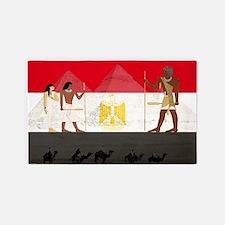 Egyptian Graphic 3'x5' Area Rug