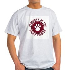 Silky Terrier Ash Grey T-Shirt
