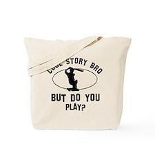 Cricket designs Tote Bag
