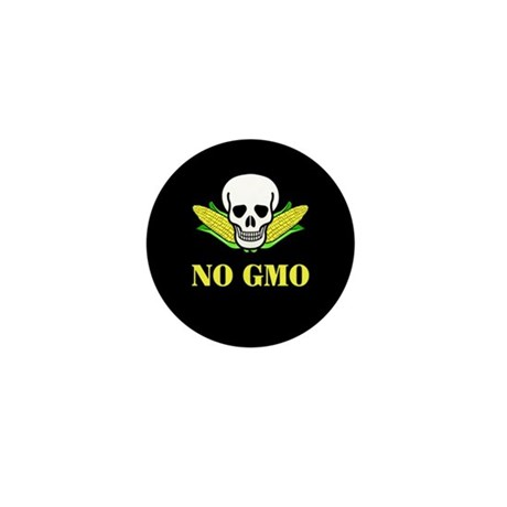 NO GMO Mini Button (10 pack)