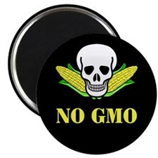 "NO GMO 2.25"" Magnet (100 pack)"