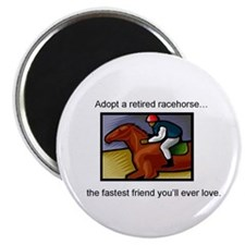 Adopt a Racehorse Magnet